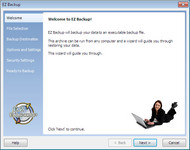 EZ Backup Windows Live Messenger Basic screenshot